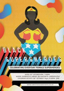 Black SuperSheroes Art Exhibition for Black History Month 2017
